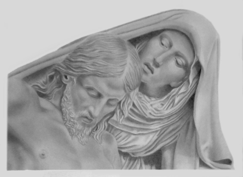 Disegni a matita piet di giovanni dupr scultura in marmo for Disegni a matita di cani