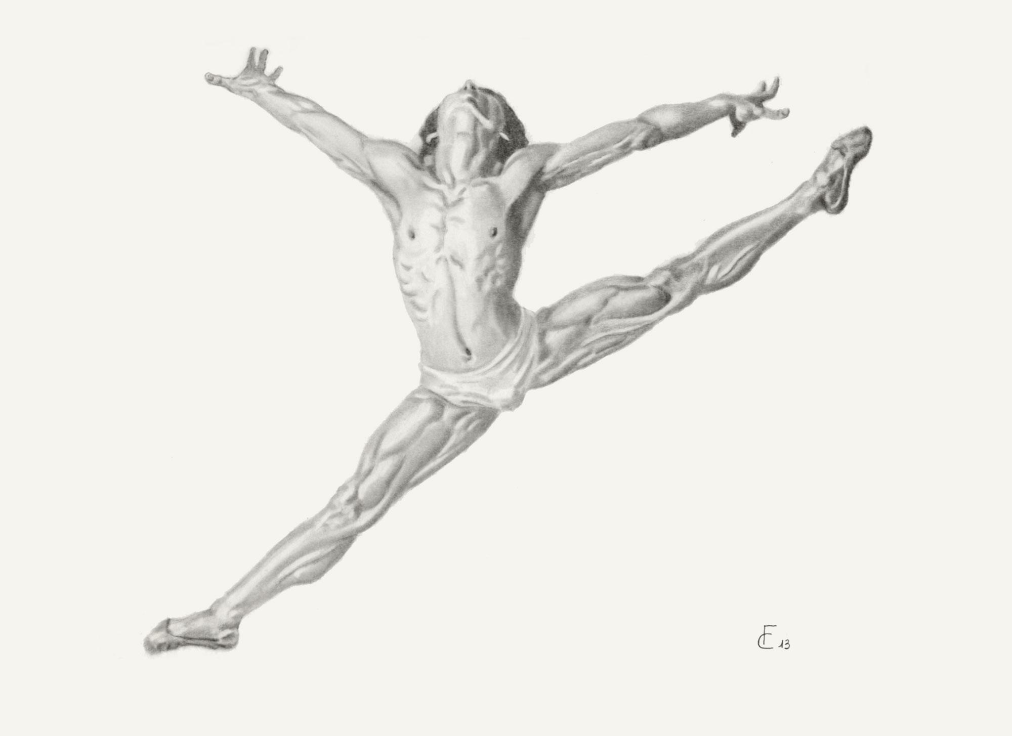 Il Corpo Umano In Disegni A Matita